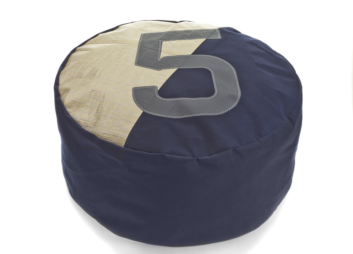 Brilliant Double Bean Bag Made Of Recycled Sail Cloth Dailytribune Chair Design For Home Dailytribuneorg