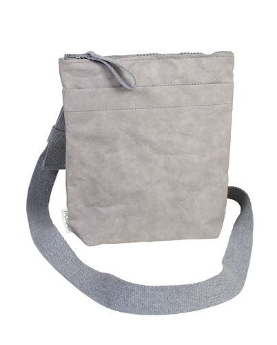 Handbag in thick cellulose fiber.