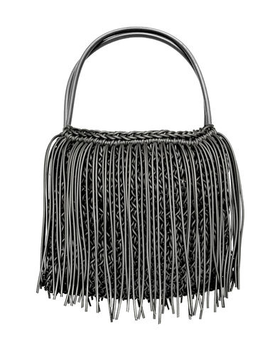 BON TON - Handles bag in Neoprene yarn. Hand knitted.