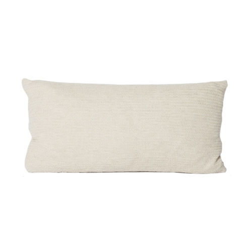 Cushion 30X60 in 100% Llama wool, classic and  timeless. CREAM colour.