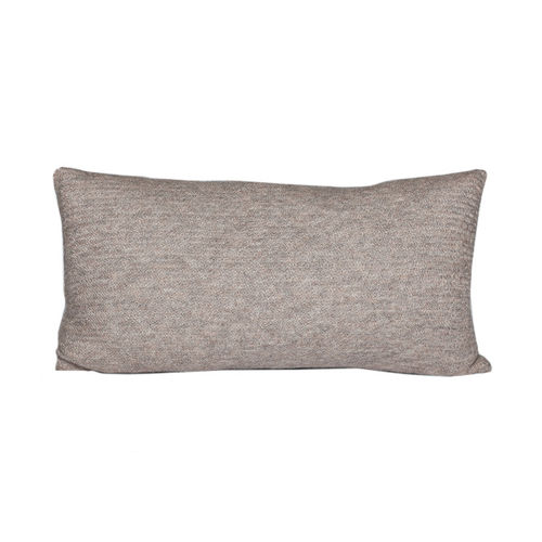 Cushion 30X60 in 100% Llama wool, classic and  timeless. ECRU colour.