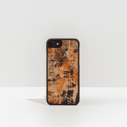 Wood Cover with vintage effect printed designs - VINTAGE CHERRY -