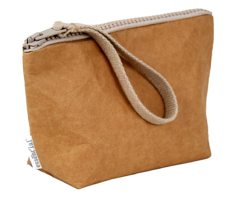 M size multi use pochette in cellulose fiber.