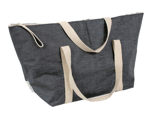XXXL Big travel bag in DENIM FABRIC.