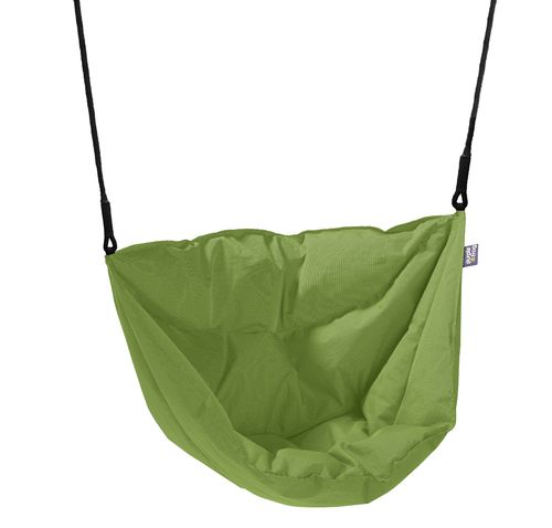 Soft and Cosy Seat Moonboat Swing - Lime -