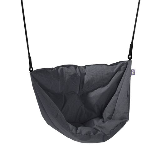 Soft and Cosy Seat Moonboat Swing - Grey -