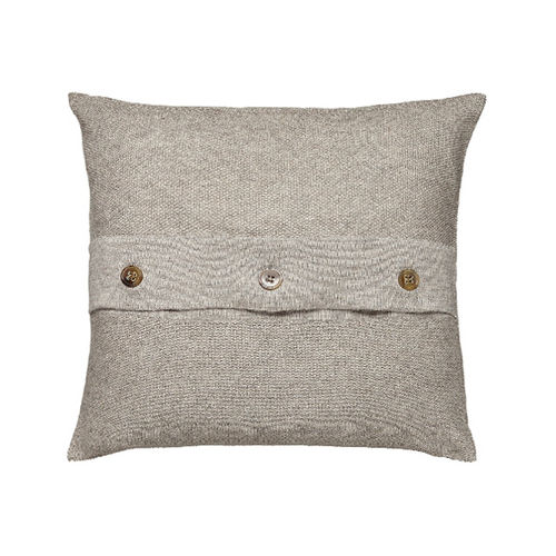Cushion 50X50 in 100% Llama wool, classic and elegant. ECRU colour.