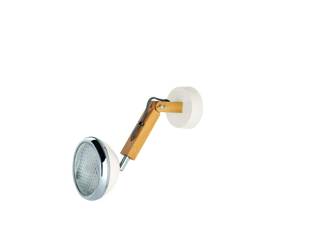 Lampada Vintage Da Parete : Lampada da parete a led piffany. orientabile a tuo piacimento.
