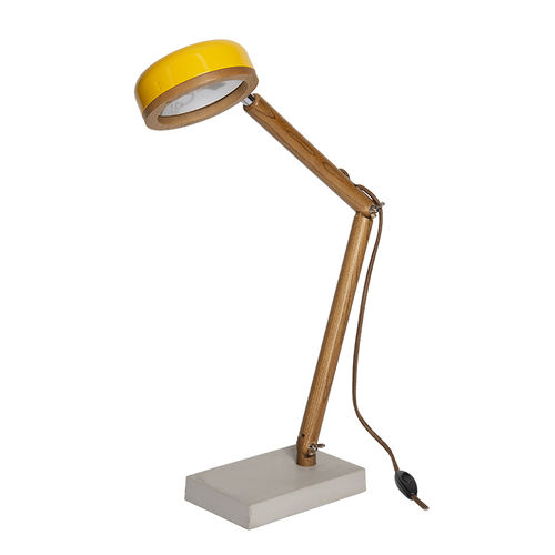 Table Led Lamp - Copenaghen Yellow -