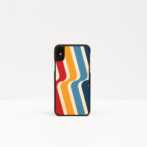 Wood Cover with printed design - STRIPES -