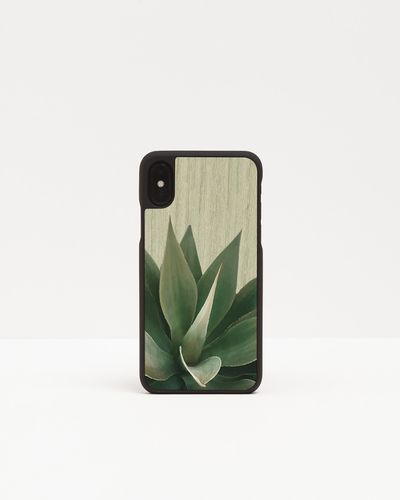 Wood Cover with floral pattern - AGAVE -