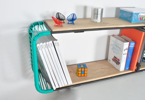 Wallshelf  - cms. 34 x 130 x 23 -