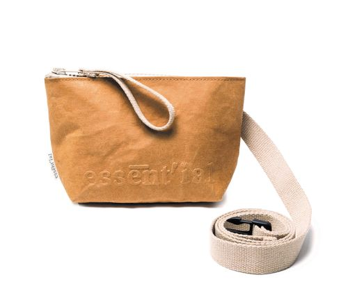 Pouch in thick cellulose fiber. M Size