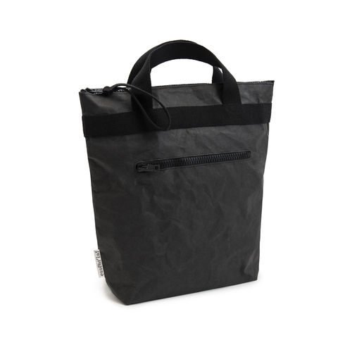 Handle bag / Backpack XL size in cellulose fiber.