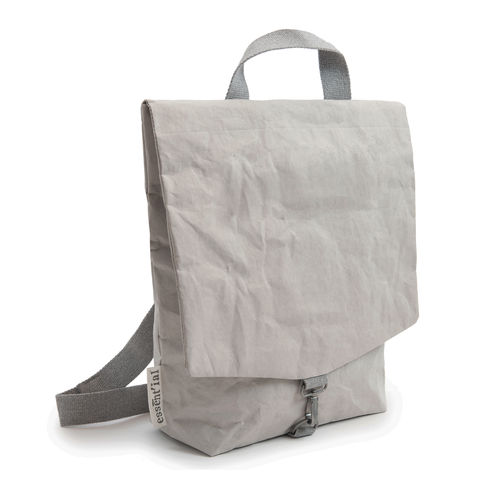CITY Backpack in thick cellulose fiber.