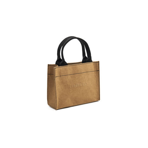 TOTE BAG SIZE S in resistente fibra di cellulosa.