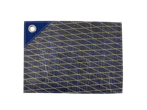 Tablemat in recycled sailcloth