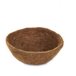 Multipurpose bowl made in BOILED WOOL.
