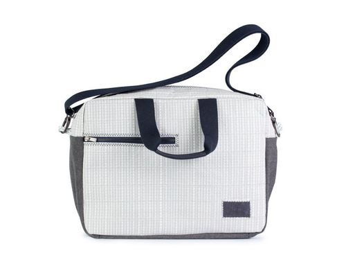 Business Bag in recycled sailcloth.