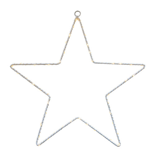 50 led STAR h. 50 - with battery -