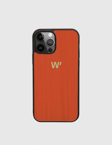 Wood Cover - ORANGE BLOCK -