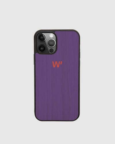 Wood Cover - VIOLET BLOCK -