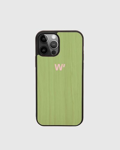 Wood Cover - GREEN BLOCK -