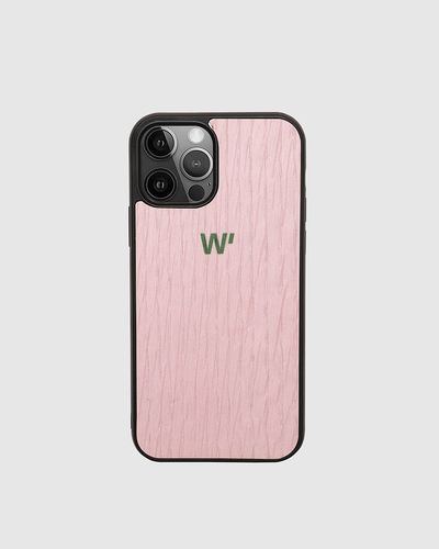 Wood Cover - PINK BLOCK -